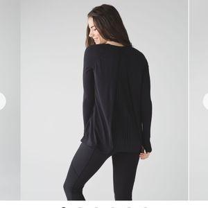 Lululemon Making Moves Long Sleeve Black